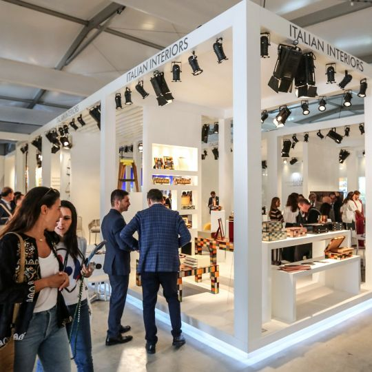 European Country Stands at Downtown Design